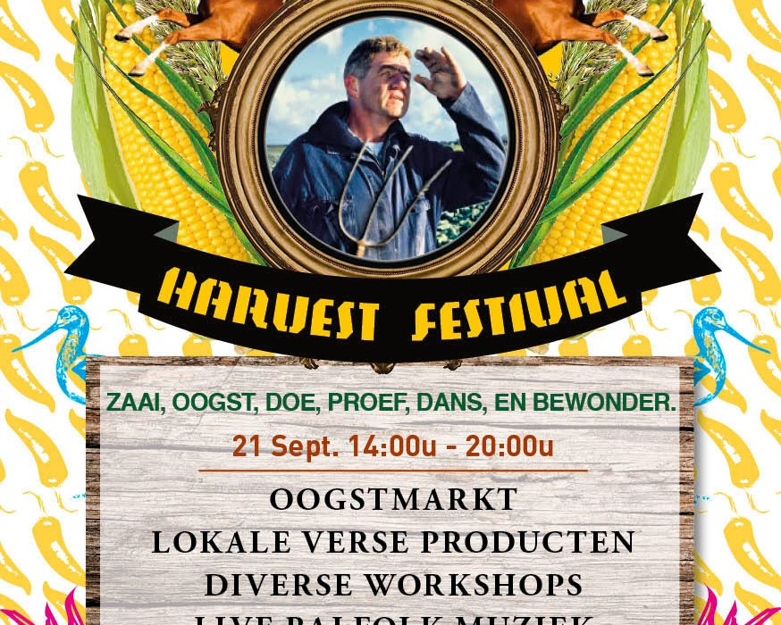 Oogstfeest Belcrum Beach - flyer